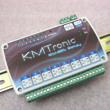 Kmtronic Rs485 8 Channel Relay Board Controller Din Clips