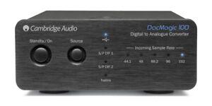 Cambridge Audio DacMagic 100 schwarz Digital Analog Wandler Converter DAC