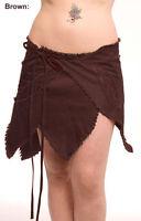 Psy Leaf Pixie Wrap Skirt Trance Fairy Elf Festival Clothing 8 10 12 14 16 18