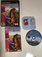PS2 Barbie Horse Adventures Wild Horse Rescue PlayStation 2 Video Game