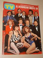 TV SORRISI CANZONI=1985/13=DRIVE IN TINI CANSINO DEL SANTO GREGGIO D'ANGELO ECT