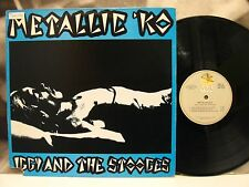 IGGY AND THE STOOGES - METALLIC KO LP USA VISA RECORDS