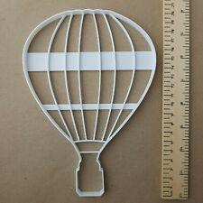 Heißluftballon Gestreift Form Riesig Kekse Keksausstecher Groß Jumbo Schablone