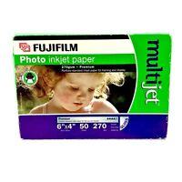 "A6 6""x4"" Fujifilm 270 Gsm Premium Gloss Photo Printing Inkjet Paper 39 Sheets"