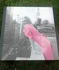 Custom Made Marilyn Monroe PRETTY IN PINK Side Table New Old Hollywood Decor