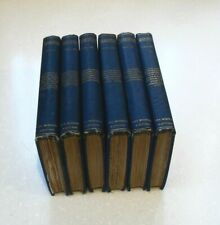 VICTORIAN ANTIQUE 1981 THE MIGNON EDITION 6 VOLUMES SET THE WORKS OF SHAKESPERE