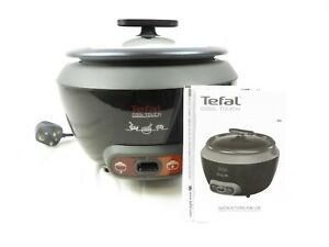 Tefal Black RK1568UK Cool Touch Rice Cooker, (20 Portions), 700 W, 1.8 Litre.