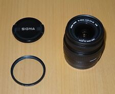 Sigma DC 18-50mm DC Lens For Canon + UV Filter