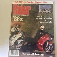 Rider Magazine Hurricane & Concours R80 Performance April 1989 060117nonrh3