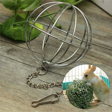Hanging Ball Toy Durable Sphere treat dispensers for Rabbits guinea pigs Hamster