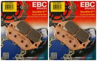 EBC Double-H Sintered Metal Brake Pads FA142HH (2 Packs - Enough for 2 Rotors)