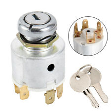 12v Universal Ignition Switch & 2 Keys Boat Car Lawnmower Classic/kit