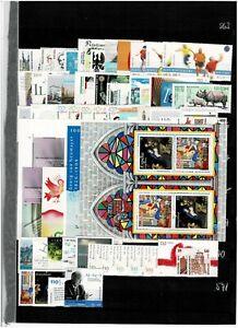 Bund BRD Jahrgang 2001 postfrisch ** komplett aus ABO Frankatur