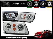 NEUF 2 FEUX AVANT PHARES LAMPS LPVWG0 VW BORA 1998-2005 CHROME