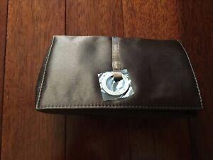 Bvlgari Womens Satin Make Up Bag NWT