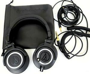 Audio-Technica ATH-M50X Professional On The Ear Headphones - Black