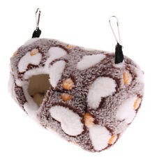 Pet Bird Hamster Ferret Mouse Squirrel Hammock Hanging Nest Bed House Toys