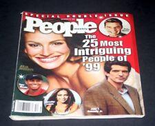 PEOPLE MAGAZINE DECEMBER 31 1999 JULIA ROBERTS / RICKY MARTIN / JFK JR