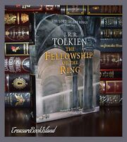 The Fellowship of the Rings By JRR Tolkien Lord of Rings New Deluxe Hardcover