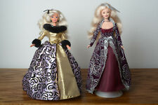 Barbie Winter Fantasy & Barbie Evening Majesty. No Box. Excellent Condition