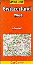 Switzerland: West (GeoCenter Detail Map), , 3829760744, New Book