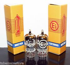 Matched Pair 2x Tungsram/EI NOS/NIB 6AQ8/ECC85/6N1 tubes - Ships from US