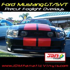 05-11 mustang SVT GT Grille fog light SMOKE OUT Overlays TINT wrap precut