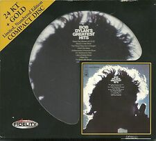Dylan, Bob Bob Dylan's Greatest Hits 24 Karat Gold CD Audio Fidelity