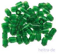 LEGO - 50 x Rundstein 1x1 transparent grün / Rundsteine / 3062b NEUWARE (L9)