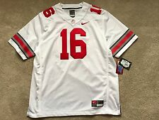 Nike NEW Ohio State Buckeyes #16 JT Barrett NCAA Jersey Men Stitched $135 XL