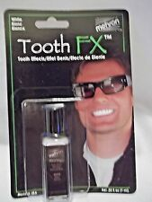 Tooth White Teeth Whitening FX .Mehron Paint Brush On White Theatrical USA