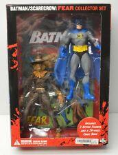 DC Direct Batman/Scarecrow action figure Collector Set w/ Graphic Novel