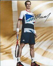 ANDY MURRAY - Hand Signed 10x8 Photo w/COA Wimbledon US Open London 2012 Tennis