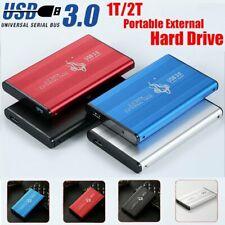 2TB USB 3.0 External Hard Drive Disks HDD 2.5'' For PC Laptop Desktop Portable