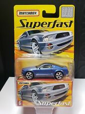 2005 MATCHBOX SUPERFAST FORD MUSTANG  GT CONCEPT BLUE LIMITED TO 8000