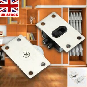 UK -Household Door Rollers Sliding Wheel Cupboard Wardrobe Furniture/Hardware