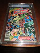 Justice League of America #155 CBCS 9.6 OW/W Pages Giant Size Issue!