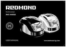 Redmond Rmc-M4502E Bread Machine Owners Manual