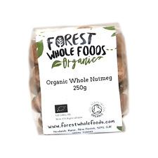 Organic Whole Nutmeg 250g