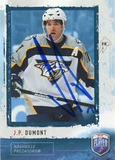 JP DUMONT PREDATORS AUTOGRAPH AUTO 06-07 BE A PLAYER BAP #136 *35743