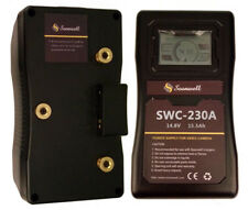 Soonwell 230wh Video Camera Anton Bauer Gold Mount Li-ion Battery LCD Display