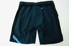 Zoic Women'S Black Nylon Spandex Biking Shorts Size Med