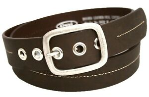 Ossi Mens Belt Leather Lined Dress Casual Waist Buckle Q5058
