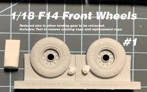 1:18 JSI F14 Tomcat Custom Resin Wheels