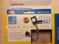 ESU 64616 LokPilot Decoder V4.0 PluX12 mfx/M4 MOT/DCC auch f.PluX16,PluX22 NEU