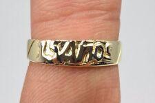 Quinceañera 15 años celebración Dulce quince anillo en oro amarillo macizo de 14k
