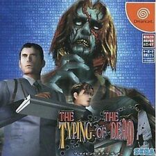 USED The Typing of the Dead Japan Import Sega Dreamcast