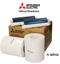 Mitsubishi CK D768 6x8 Paper/Ink Ribbon Set for CP D70 DW *400 Prints/Ausdrucke*