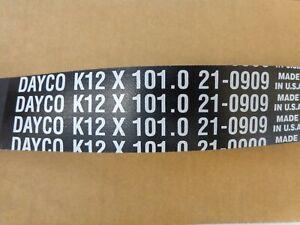 DAYCO 21-0909 Serpentine Belt, DAYCO  K12 x 101.0 Serpentine Belt