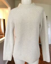 LORD & TAYLOR Wool And Cashmere Knit Pullover Sweater Medium